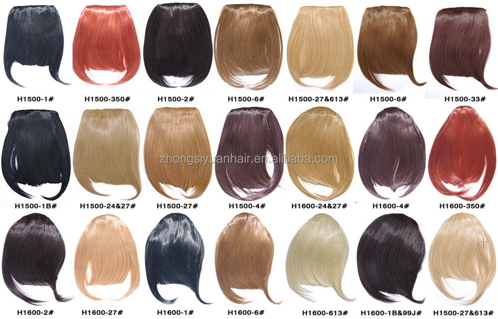 ZSY hot sale synthetic hair bang