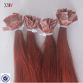 Factory Pre-bonded Keratine Tip Hair Flat tip Human hair extension