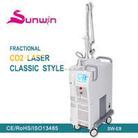 fractional co2 laser burn scar removal / sun damage device for beauty expert