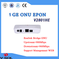 V-Solution FTTH Optical network gepon onu 1GE chipset Realtek managemant WEB