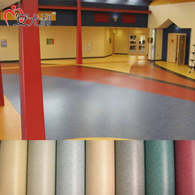 Portable Tennis Court Sports Flooring Fireproof Laminate PVC Floor