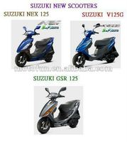 SUZUKI NEW SCOOTER MOTORCYCLE BKE 125 cc V125G GSR125 NEX125