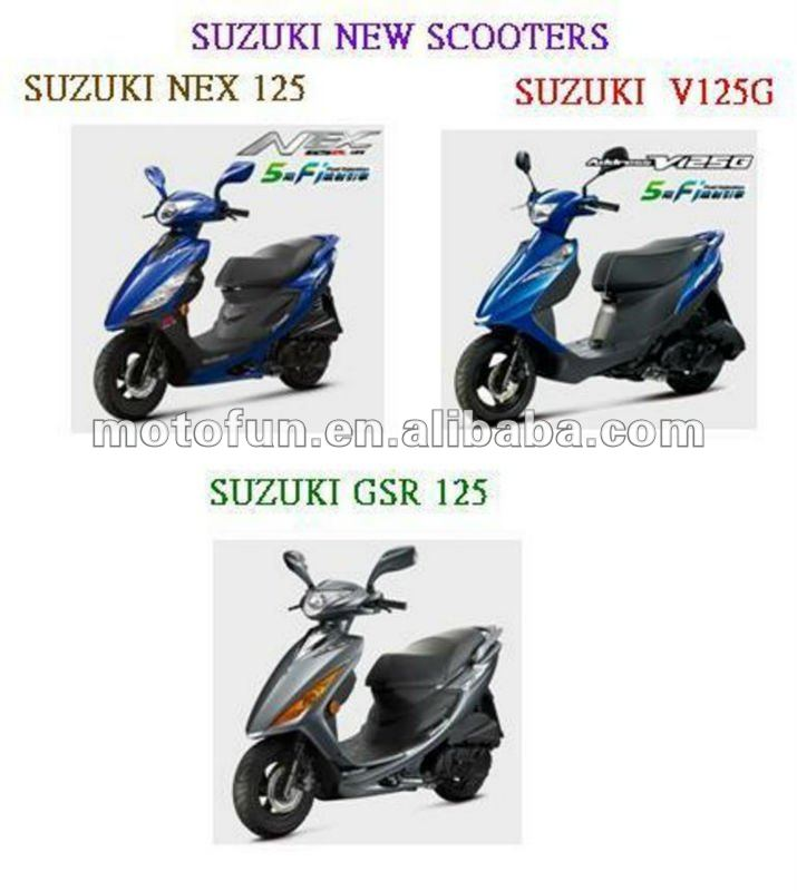SUZUKI NEW SCOOTER MOTORCYCLE V125G GSR125 NEX125
