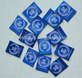 Custom design 50d high density damask woven labels For garments