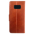For samsung galaxy s8 case,genuine leather S8 case with magnet,flip stand case for Sangsung S8