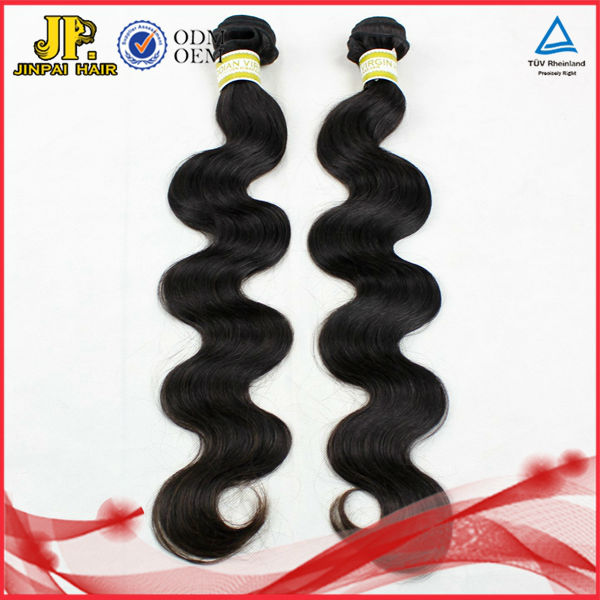 JP Hair Good Quality 100% Human Virgin Wholesale Black Hair Products