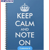 Cute Office Supplies Keep Calm Writing