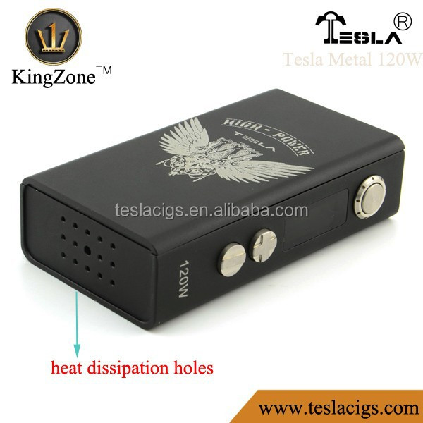 Tesla 120w metal box mod with suitable size better better better than dna 30 mini cloupor