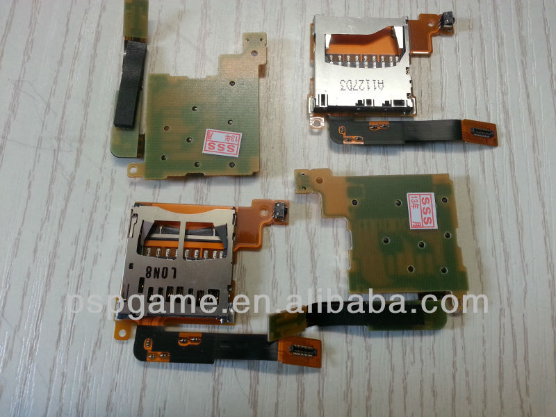 Original and New Card Socket card Slot with cable for Nintendo DSI XL Game console
