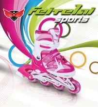 Best selling inline skates rubber wheels and speed skates roller.