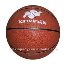 PU PVC leather laminated basketball for training