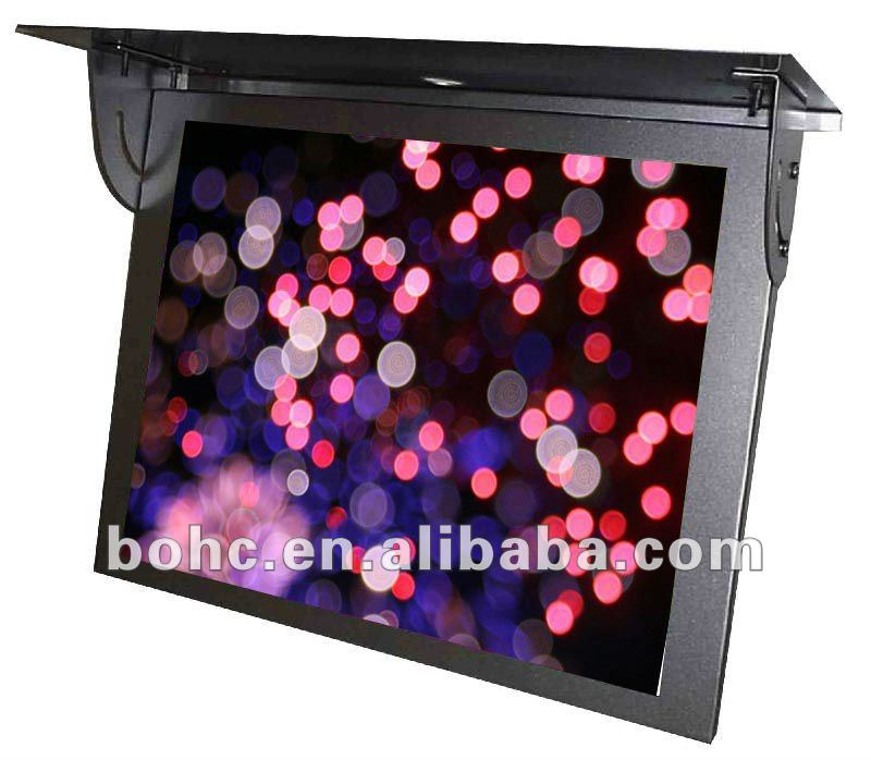 17 Inch lcd 3g wifi bus advertising information screen
