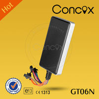Concox GT06N Anti theft car gps tracker with battery mini micro gps tracker Car speed limiter