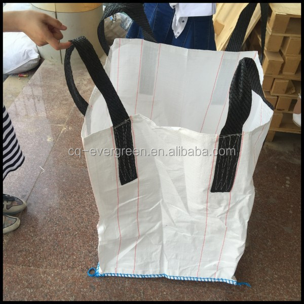 Hot Sale 100% PP Woven Jumbo Bag 1000kg 2000 kg Big Bag FIBC Chinese Manufacturer