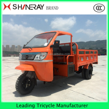 Chongqing China Three Wheel Covered Motorcycle Tricycle for Transport 250cc300cc