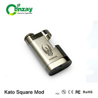 2014 kato square box mod clone with kato hammer mod clone good price