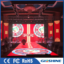 Gloshine MX3.91 Outdoor led video screen stage floor for concert