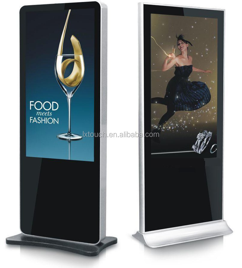 "32"" 42"" 46"" 55"" 60"" 65"" 70"" customizable big touch screen digital signage advertising display kiosk"