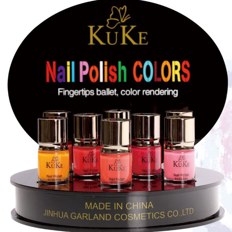 Can be dyed cheap 100% 15 Ml Water Based Nail Polish Nail Lacquer