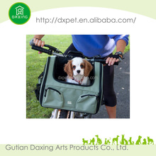 Pet Carrier For Bicycle With Big Side Pocket