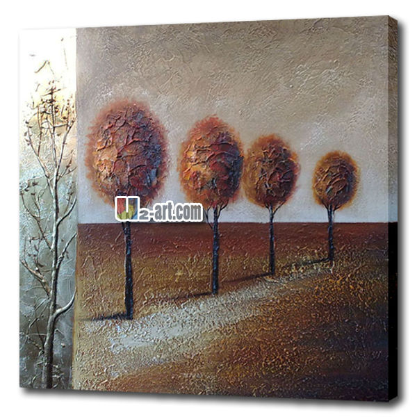 Reproduction modern Wall decoration canvas art oil Painting abstract trees