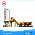 Ready mixed central belt conveyor stationary precast cement concrete mixing plant