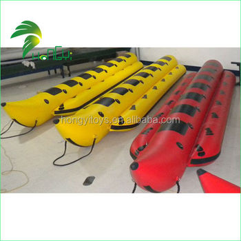 Enjoy Good Reputation Hongyi Made Inflatable Water Banana Boat