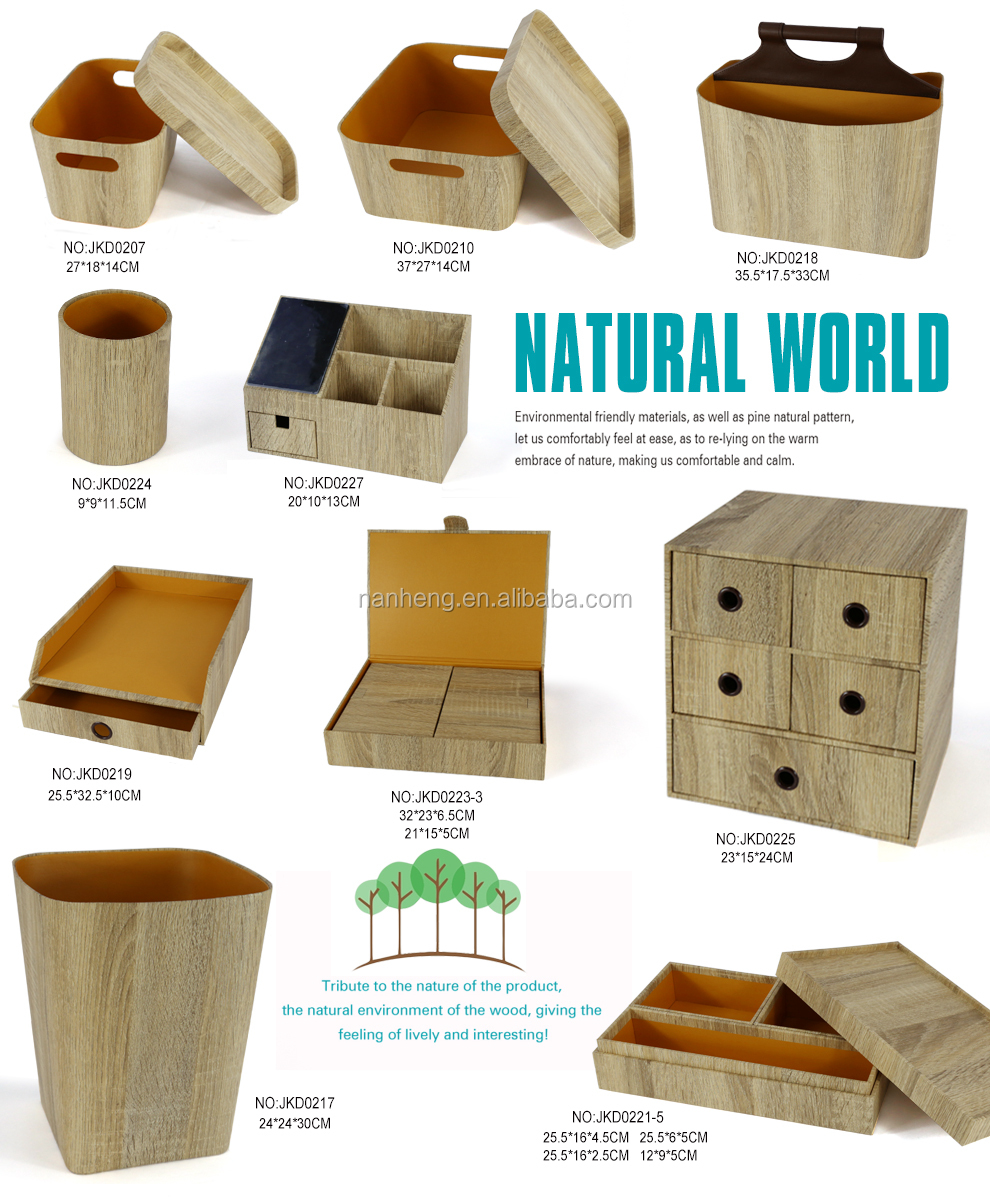 NAHAM Hot new product wood storage basket