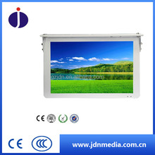 17inch- 22inch cute size white bus lcd digital media display with network 3G advertising signage display