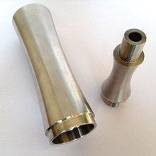 CNC precision anodized aluminum metal pipe parts smoking parts of electronic cigarette accessories
