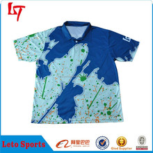 Polyester mesh polos shirt/custom sublimation polo jersey/Sports polo apparel