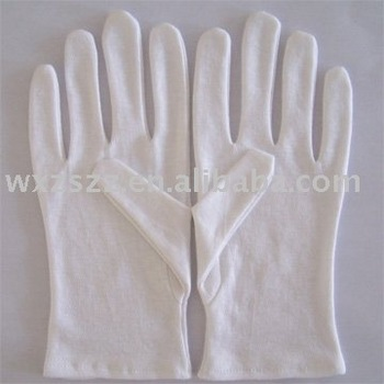 Newly white cotton gloves With Great Low Price