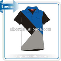 Color combination polo shirt,bright colored men polo shirt (SSE-2)