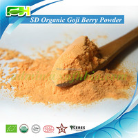 2016 New Superfood Certified Spray Dried Organic Goji Berry Powder (100 grams of samples free of charge)
