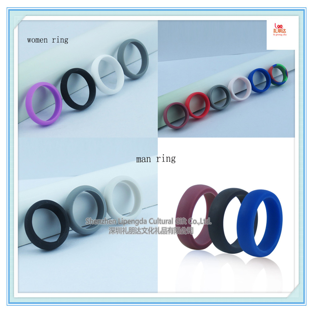 OEM/ODM Silicone Wedding Ring Bands athletic wedding band