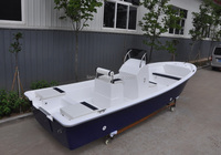 Liya offshore boats lake fishing boats 19ft outboard CE frp hull panga