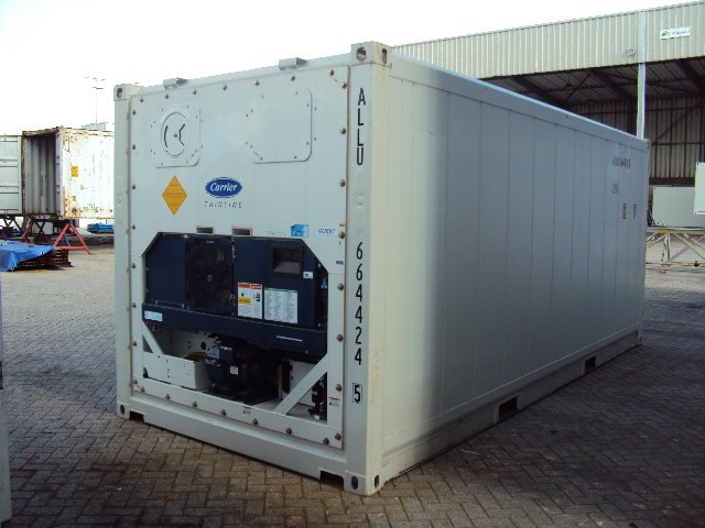20ft used reefer container refrigerated sea container