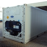 20ft Used Reefer Container Refrigerated Sea