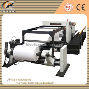 High Precision Automatic Paper Roll To Sheet Cutting Machine