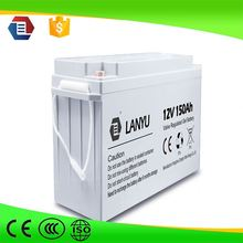 hot sale 12v 150ah deep cycle gel battery 12v 150ah solar storage battery wind trubine battery