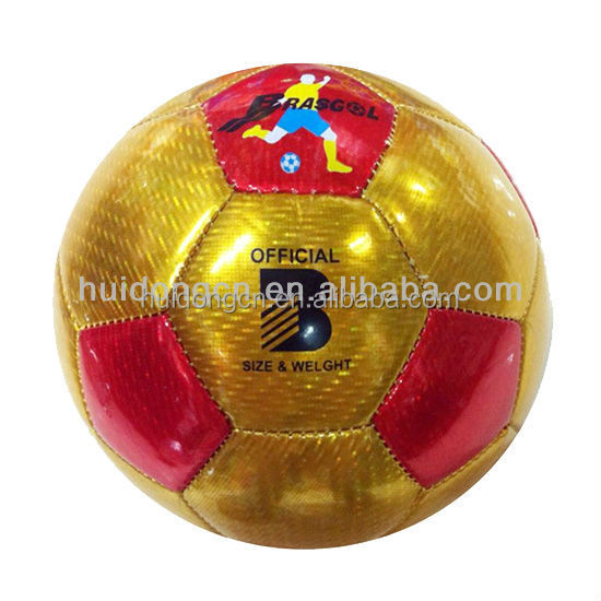 Yiwu factory Cheap promotional good quality kids toys games TPU machine sewing size 3 mini soccer ball/Football ball Wholesale