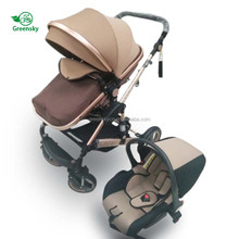 2018 China baby stroller manufacturer online wholesale baby products cheap triple stroller baby pram 3 in 1