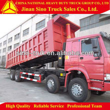 China HOWO 40000kg 8x4 Constuction Transport dump lorry for sale