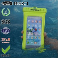 Customized pvc phone waterproof case factory