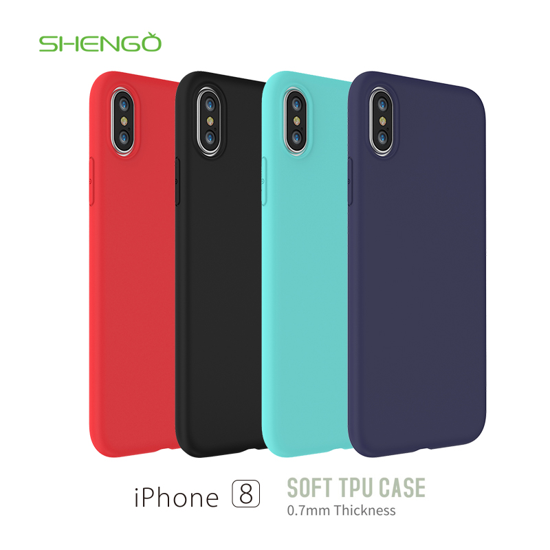 SHENGO HIGH QUALITYL FASHION TREND CASE FOR IPHONE 8