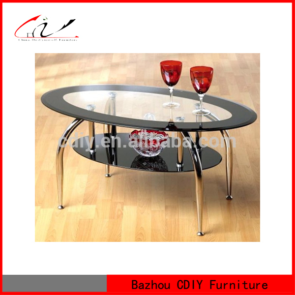 Black Oval Tempered Glass Coffee Table Buy Oval Coffee Table Tempered Glass Coffee Table Black