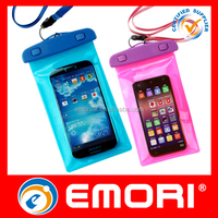 2016 The best selling customized gift IPX8 durable waterproof mobile phone pouch