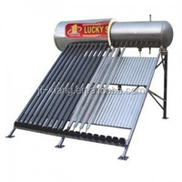Integrated Presurized Bearing Solar Water heater Vacuum tube for Project