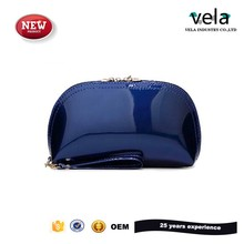 Wholesale Fashion Shiny Patent Pu Leather Hand Bags Women Evening Clutch