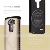 Shock Proof Shield Mobile Phone Case Back Cover For LG G4
